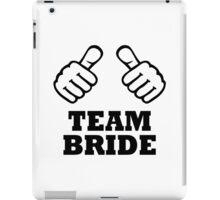 Team bride bachelorette party iPad Case/Skin