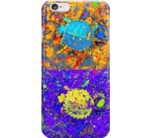 A Sequence of Toddler Turtles – Yellow & More iPhone Case/Skin