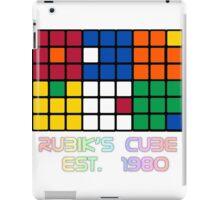 Rubik's Cube Est 1980 iPad Case/Skin