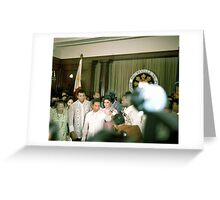Ali-Frazier Courtesy Call on Philippine President Marcos. Greeting Card