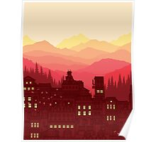 The red city Poster