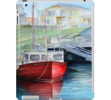 Peggy's Cove Red Boat iPad Case/Skin