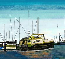 Boats at the harbor by magins