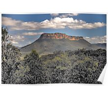 Capertee Magic - Capertee Valley, Blue Mountains World Heritage Area - The HDR Experience Poster