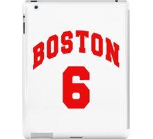 Jack Parker - BU #6 - white jersey iPad Case/Skin