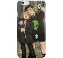 X Files UFO Party iPhone Case/Skin