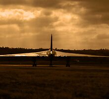 XM655 Vulcan Bomber  by yampy