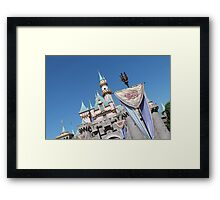 The castle Framed Print