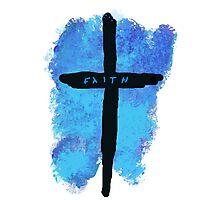 Faith on a Cross Photographic Print