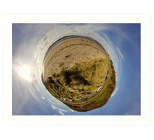 Lisfannon Beach, Fahan, County Donegal, Sky Out Art Print