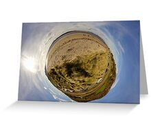 Lisfannon Beach, Fahan, County Donegal, Sky Out Greeting Card
