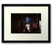 B-street Framed Print