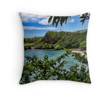 Makena Beach ~ Maui Throw Pillow