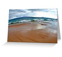 Makena Beach II ~ Maui Greeting Card