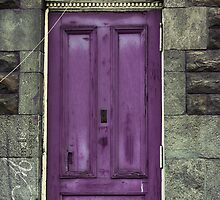 purple welcoming by Aimelle