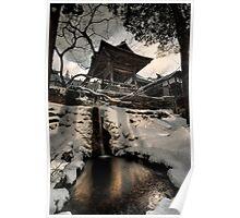 Old Nozawa Temple Poster