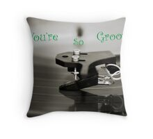 You're So Groovy! Throw Pillow