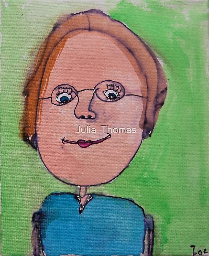 My Oma by Zoe Thomas Age 7 by Julia  Thomas