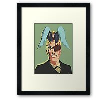 The Unexpected Attorney of Ignorance Framed Print