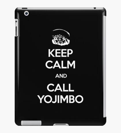 Keep Calm and Call Yojimbo iPad Case/Skin