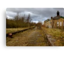 Trains gone by........ Canvas Print
