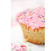The BEST vanilla cupcakes Photographic Print