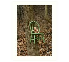 This Chair Was Just Right Art Print