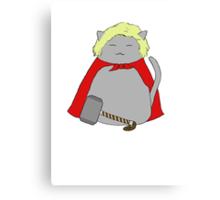 Thor Kitty Canvas Print