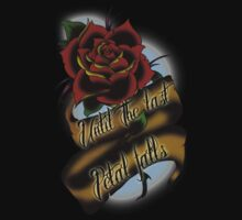 Beauty and the Beast Rose Tattoo by creepingdeath90