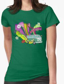60's Van with Foulli and Gerbera T-Shirt