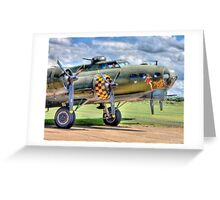 Sally B - A Flying Legend - HDR Greeting Card