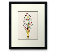 I Brought You These Flowers Framed Print