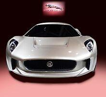 Jaguar White by Radoslav Nedelchev