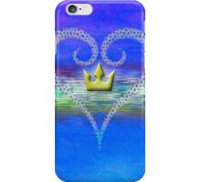 Kingdom Hearts Heart and Crown iPhone Case/Skin