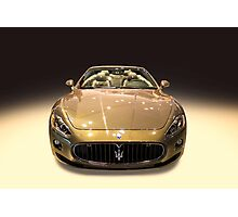 Maserati gold colour Photographic Print