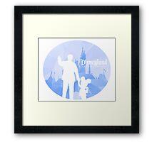 Disneyland 60th Anniversary Framed Print