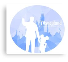 Disneyland 60th Anniversary Canvas Print