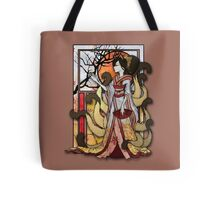 Kitsune of Sunset Tote Bag