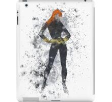 Black Widow Splatter Graphic iPad Case/Skin