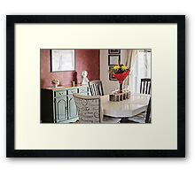Dining Room with a French Flair Framed Print