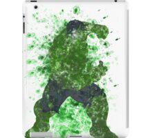 Hulk Splatter Graphic iPad Case/Skin