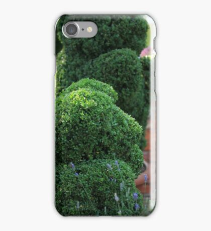 green bear topiary iPhone Case/Skin