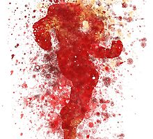Iron Man Splatter Graphic by ProjectPixel