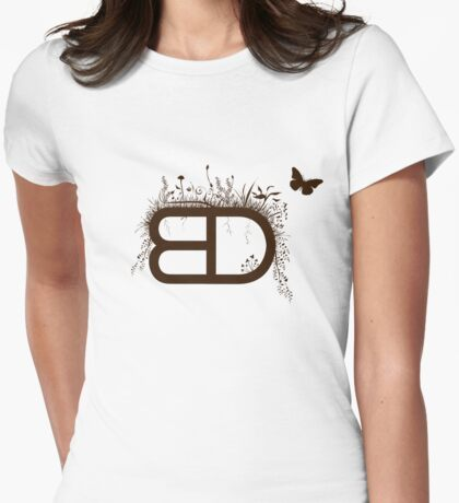 [ BD ] Logo T Womens Fitted T-Shirt