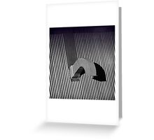 The J Roof Greeting Card