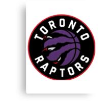 Toronto Raptors Alternate Logo Canvas Print