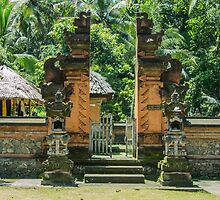 Traditional Village - Bali by Paul Campbell  Photography