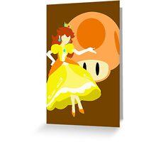 Super Smash Bros Peach (Daisy Alternative) Greeting Card