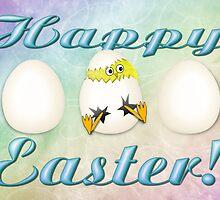 Easter Eggs Card by BluAlien