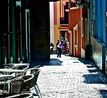 An Alley in Puerto Rico by sbackman